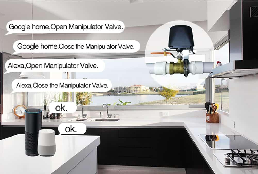 Van nước thông minh Tuya (WiFi) 4