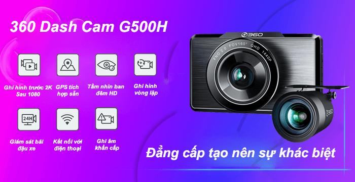 Camera hành trình Qihoo 360 G500H