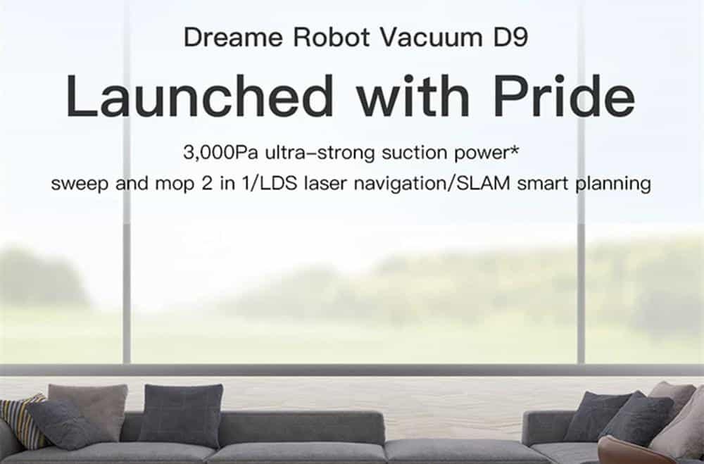 Robot hút bụi, lau nhà Xiaomi Dreame D9 1